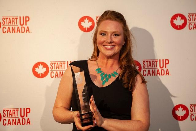 Katherine Regnier Wins Start Up Canada Award