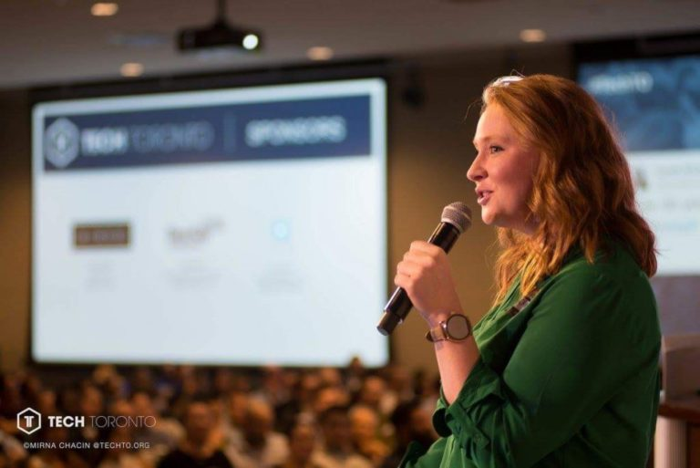 Coconut Software's Founder and CEO Katherine Regnier Speaks at TechTO 2018
