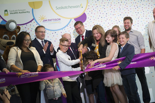 Jim Pattison - Blog Image - Ribbon Ceremony