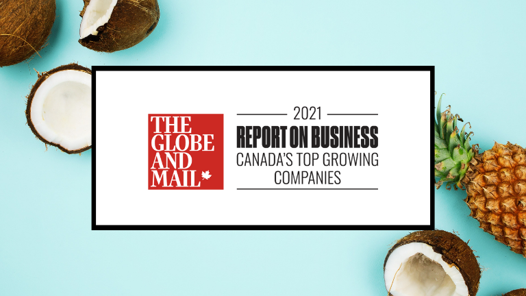 Coconut Software included in The Globe and Mail's second-annual ranking of Canada's Top Growing Companies