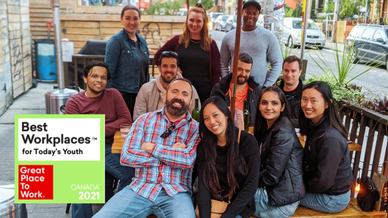 Coconut Software makes 2021 List of Best Workplaces™ for Today's Youth